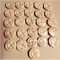 St. Louis Cardinal World Series Booster Pins (26) JMD-15100