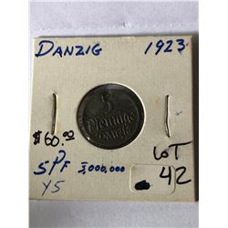 Rare 1914 Netherlands East Cent in Good Grade