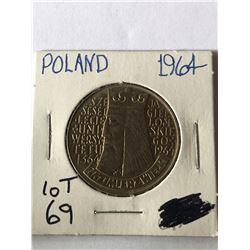 1964 Polland 10 Nice MS High Grade