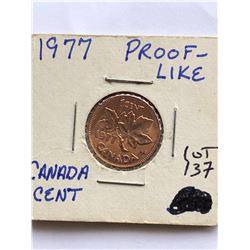 1977 Canada 1 Cent PROOF LIKE High Grade Coin