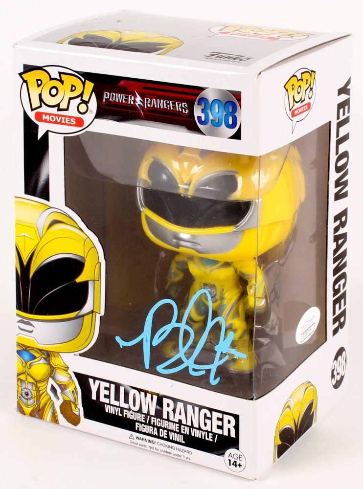 Power Rangers POP Movies Yellow Ranger #398 Vinyl Action Figure New Funko