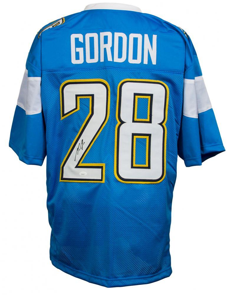 sale retailer ddb64 4dd11 Melvin Gordon Signed Los Angeles Chargers Jersey (JSA COA)