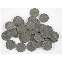 Lot - USA Indian Head/Buffalo 5 Cents.