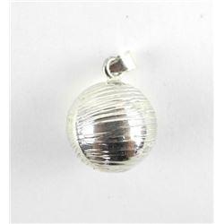 925 Silver Ball Pendant.