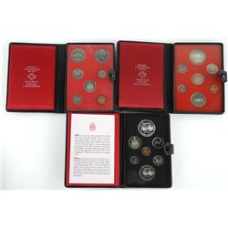 Grouping (3) Prestige RCM Coin Sets 1972,1973,1974