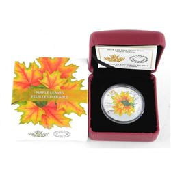 .9999 Fine Silver 20.00 Coin Maple Leaves