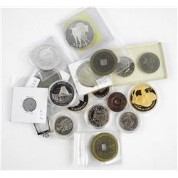 Estate Bag of Mixed Coins, 925 & 999 Fine Silver U