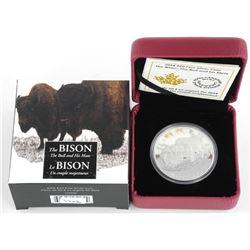 """9.9 Fine Silver $20.00 Coin """"Bison."""""""
