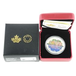 9.9 Fine Silver $20.00 Coin Butterfly Illusions.