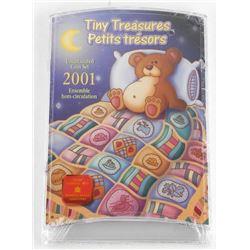 2001 Tiny Treasures UNC Coin Set.