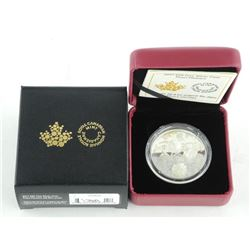 .9999 Fine Silver 20.00 Coin 'Pearl Flowers' Minta