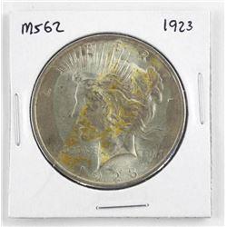 1923 USA Silver Peace Dollar.