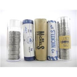 Estate - Grouping 5 Rolls Canada 5 Cent