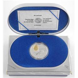 "925 20.00 Sterling Silver Aviation Series ""Lancas"