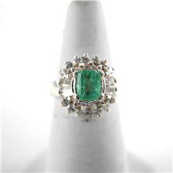 925 Silver Ballerina Style Ring with Swarovski Elements