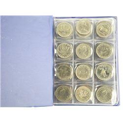 Estate Lot (48) Canada Dollar Coins