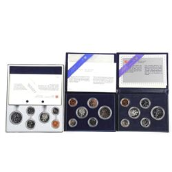 Lot (3) Specimen Coin Sets