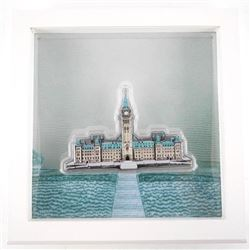 .9999 Fine Silver Sculpture Parliament Buildings 1