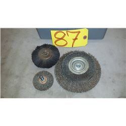 Lot of Wire Brush