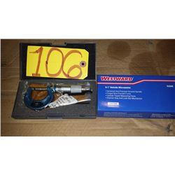 """WestWard Micrometer 0-1"""""""
