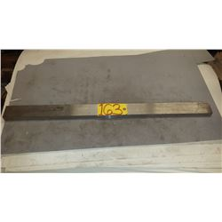"Steel Plate 2""1/2 x 1"" x 36""5/8"