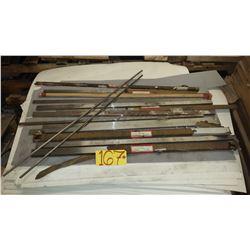 Lot of Steel Rod