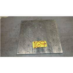 "Alumimun Plate 16""x 16"" x 3/4"""