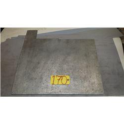 """Aluminum Plate 24""""x 19""""x 1/4"""""""