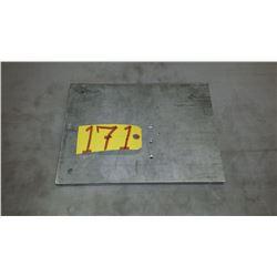 """Aluminum Plate 12""""5/8 x 9""""3/4 x 5/8"""""""