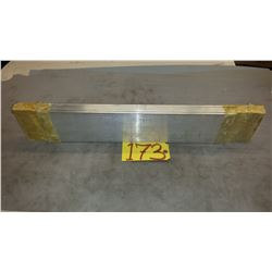 """Aluminum Plate 25""""1/4 x 5"""" x 1/4"""" + extra plate"""