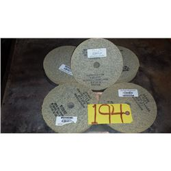 """K-FLEX Stainless buffing Disc 7"""" x 3/16"""" x 7/8"""""""