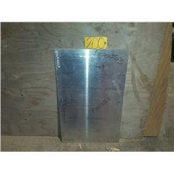 "Aluminum Sheet 18"" x 29.5"" x 1/8"""