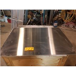 """Stainless Sheet 32"""" x 45"""" x 1/16"""""""