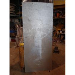 """Aluminum Plate 7' x 36"""" x 3/16"""""""