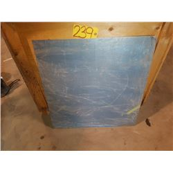 """Stainless Sheet 27""""3/4 x 29""""3/4"""