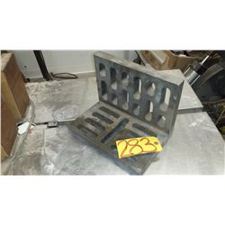 """Slotted Angle Plate 8"""" X 9"""" X 12"""""""