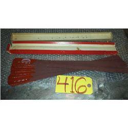 "Box of (10) Simonds High Speed Blade 17""x 1""1/4x 0.62""  4t"