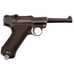 Mauser PO8 Luger 9mm Pistol