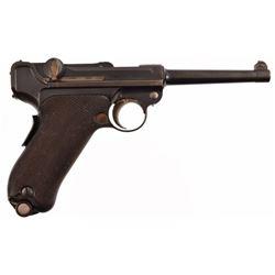 DWM 1900 Swiss Luger .30 Pistol