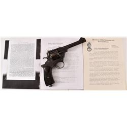 Captain Filgate's Webley Fosbery .455 Revolver