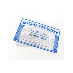 Elektra - Elektra's Social Security Card Prop (0006)