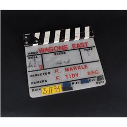 Wagons East - Clapperboard Movie Slate (0001)