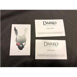 Donnie Darko - Richard Kelly lot of 3 business cards (0102/0103/0104)