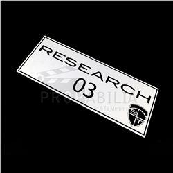 Van Helsing - Blak Tek Laboratory Signs (0502/0510)