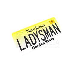 Harold & Kumar Go to White Castle - LADYSMAN License Plate Prop (0013)