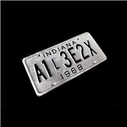 Scary Stories to Tell in the Dark - Indiana License Plate Prop (0642)