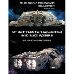 Battlestar Galactica Auction Catalog of Miniatures