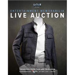 Star Wars Prop Han Solo Jacket Entertainment Memorabilia Auction Catalog 2018
