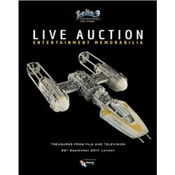Entertainment Auction Catalog Star Wars Y-Wing Cover September 2017