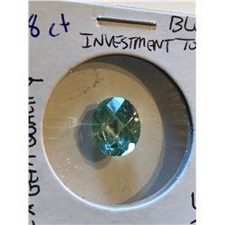 Rare Beautiful 5.80 BLUE TOPAZ Investment *GEM QUALITY Oval Diamond Cut
